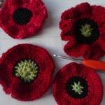 crochet poppy patterns - free www.offthehookforyou.co.uk