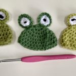 Big knit crochet pattern frog