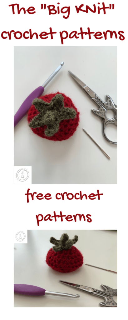 The Big Knit crochet patterns