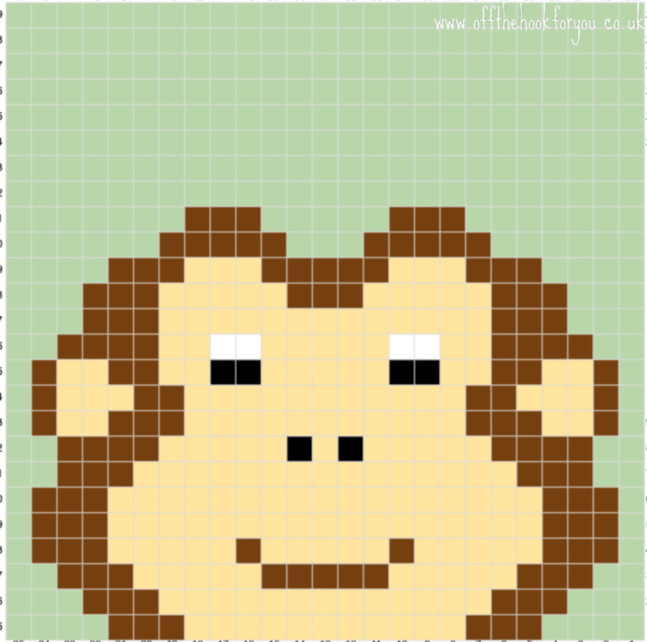 monkey crochet graph c2c