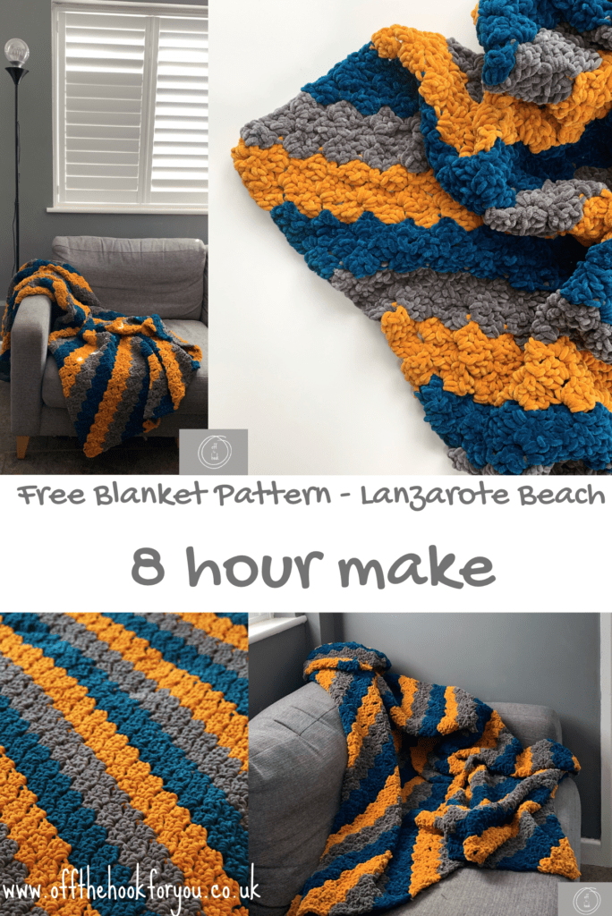 quick crochet blanket