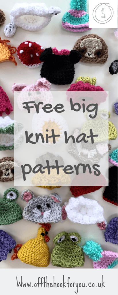 Innocent smoothie big knit crochet patterns free