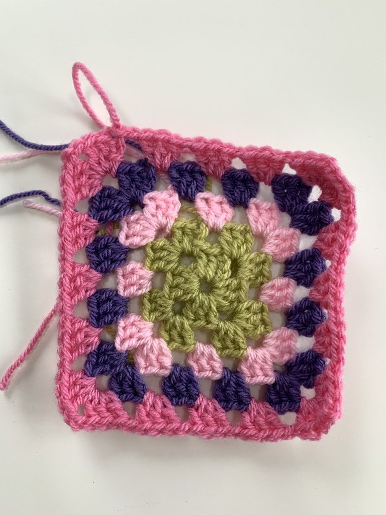 granny square - how to - CAL, crochet blanket
