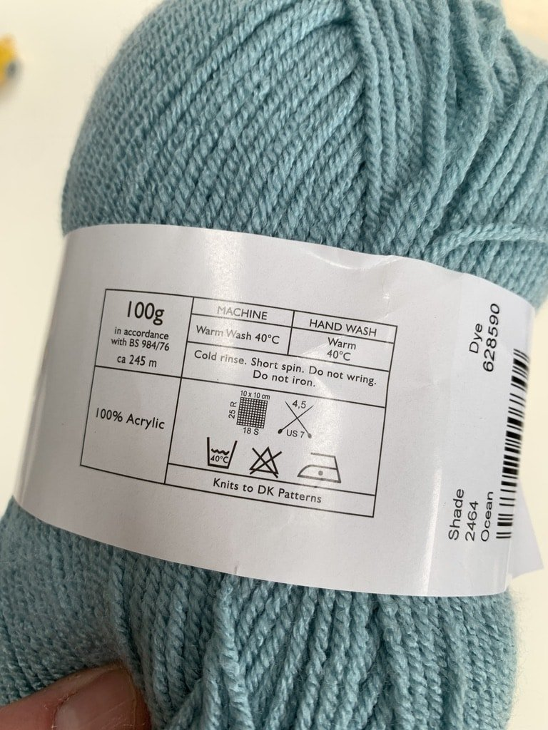 Cygnet Pure Baby anti-pilling yarn review